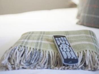 TV & Blankets