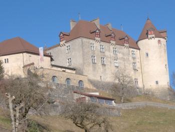 Au Soleil de Gruyères - Château de Gruyères