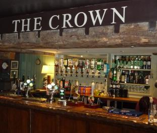 The Crown Inn bar