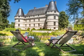 Une pause au Château de l'Isle- Gîte d'étape Le Presbytère de Beaulieu