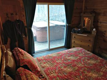 Bill's Cabin Bedroom