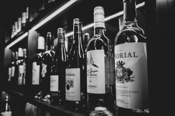 Range of wines on offer