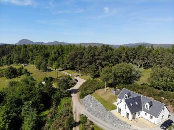 Drovers Lodge - Aerial View