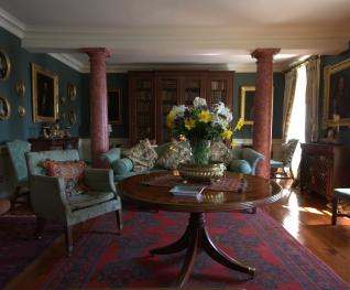 Green drawing room