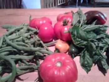Farm Fresh from our garden