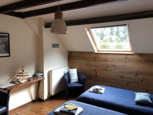 Double ou Twin-Confort-Salle de bain et douche-Vue sur Montagne-3 épis gites de france - Tarif de base
