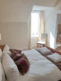 Double room-Standard-Ensuite with Shower-Sea View-Double Room - Base Rate