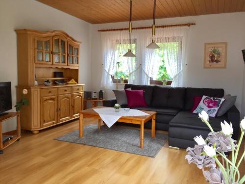 Apartment-Balkon-Ferienwohnung 3 im OG