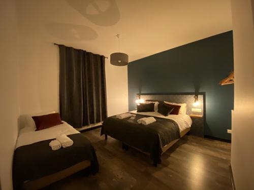 Chambre 1 - Lit 180x200/100x200
