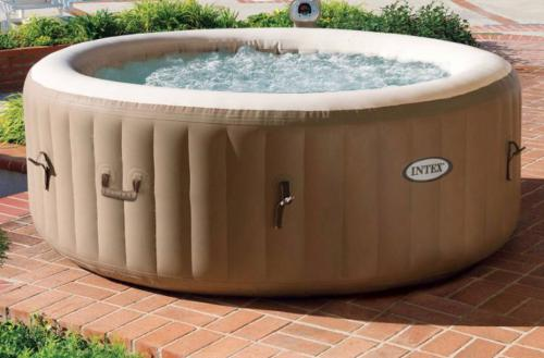 Spar Hot tub to relaxing