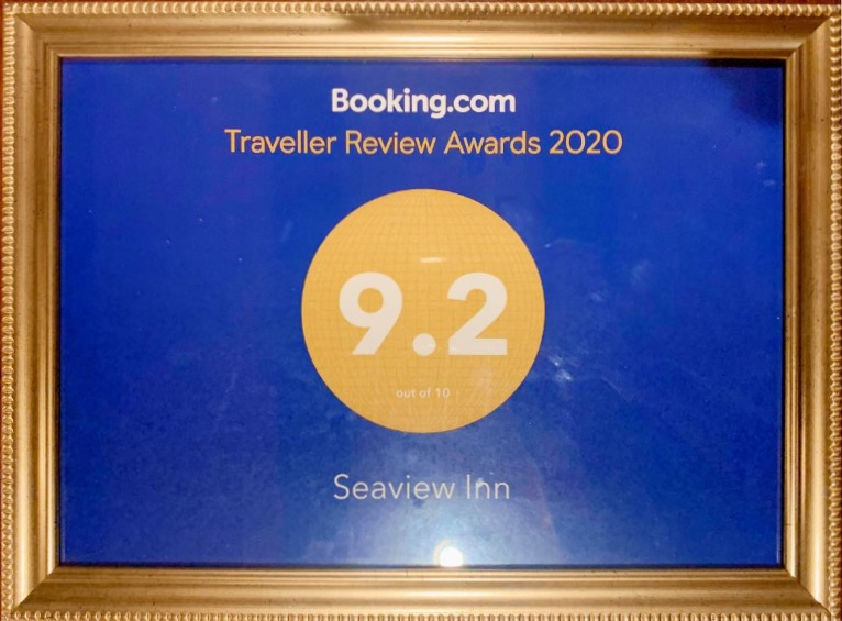 Seaview Inn has received a 9.2 Traveller Review Award!