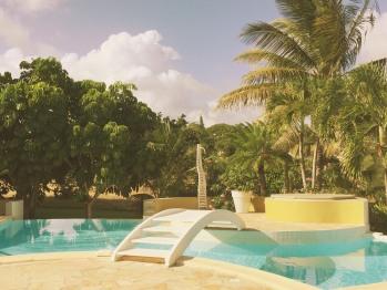 Vue principale piscine
