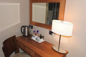 Dressing area with tea/coffee facilities