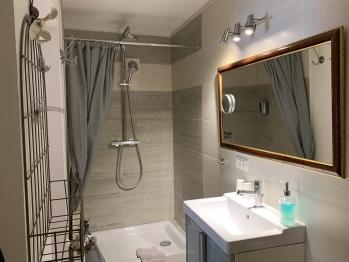 Salle de bain :  douche chambre Mazarin