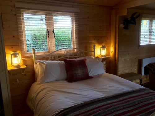 Self Contained Log Cabin - studio, sleeps 4