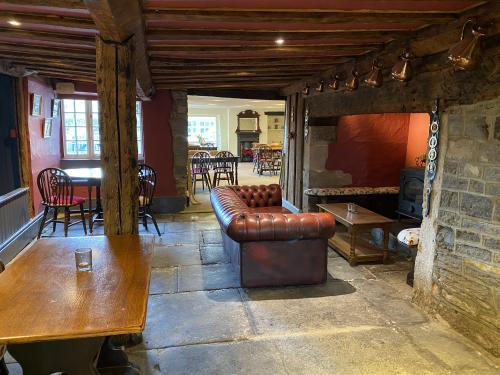 Snuggle by the inglenook fire at The Lion