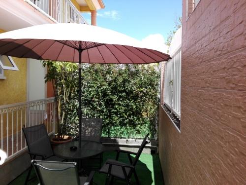 Chambre Triple avec jardin privé