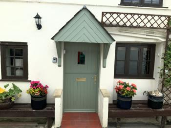 Church Cottage - Main front door