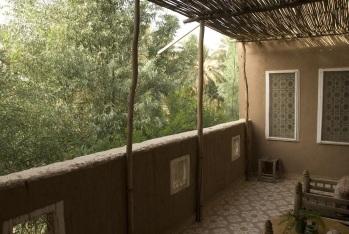 terrasse de la chambre Hibiscus