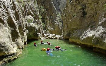 Canyoning Rafting près de Céret
