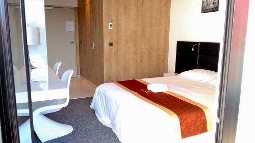 Hotel de la Seine - Chambre Double avec Balcon