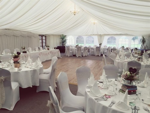 Our Lovely Wedding Marquee