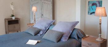 Romance-Double-de Luxe-Salle de bain-Vue sur Jardin - Tarif de base
