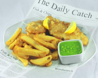 The internationally famous Blackhorse Fish and homemade chips