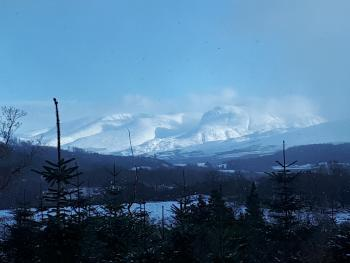 VIEW OF BEN NEVIS FROM OUR MOUNTAIN