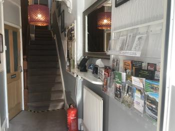 Entrance Hall with local information