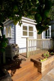 Our sunny summerhouse!