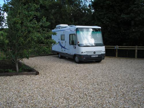 Motor Home-Electric Pitch-Standard-Shared Bathroom-Countryside view - Base Rate