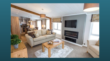 Your own light and airy lounge to gather all the family!