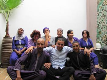 L'équipe du Riad Houdou
