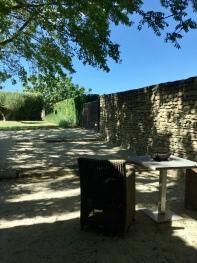 Terrasse privée de la Bergerie