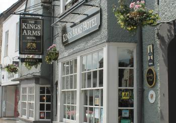 The Kings Arms Hotel in Malmesbury