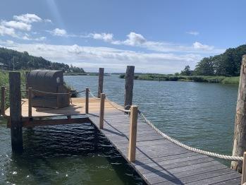privater Badesteg