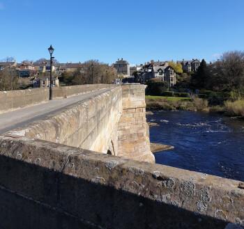 Corbridge bridge over the river Tyne