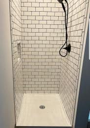 Upstairs (newly remodeled) bathroom