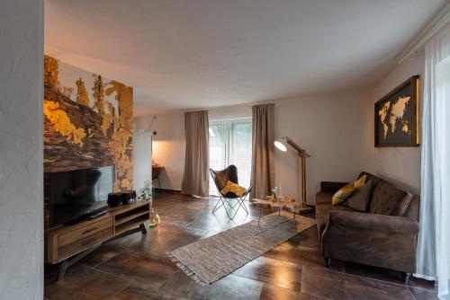 Apartment-Modern-Eigenes Badezimmer-Balkon-Rochter Bleibe