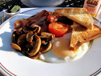 Our Full English is cooked fresh to order
