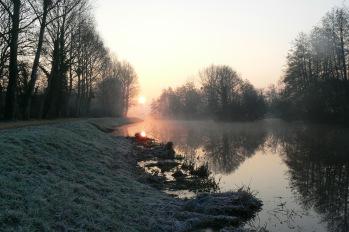 canal de N à B en hiver