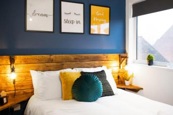 Inspire Homes - Coundon Road Holiday Home - Double rooms with hotel quality linen