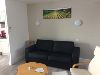 canapé-lit, coin salon