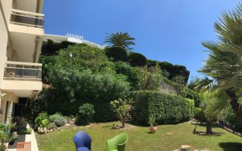 Vue arrière du jardin privé à votre un unique disposition