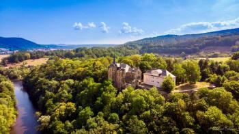 Luftaufnahme Schloss Weißenburg
