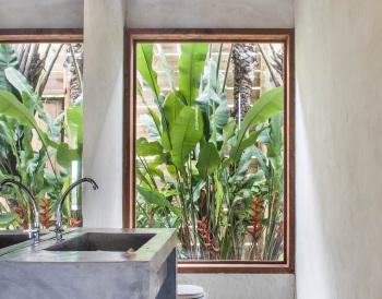 KA BRU River Rental Villa - Bathroom
