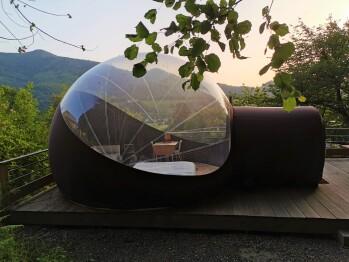 Unité-Premium-Salle de bain Commune - Big'Bulle Transparente