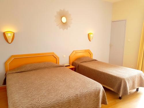 Triple-Confort-Salle de bain Privée-Vue sur Piscine