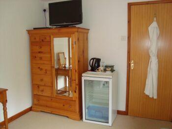 Bedroom 3 full size fridge and tea making facilities